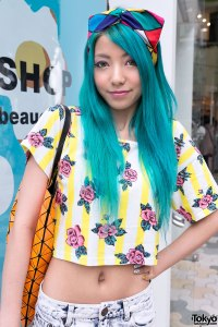 LOVE LOVE this girl's style. Image courtesy of tokyofashion.com