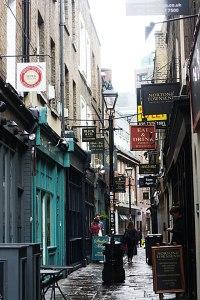 Have a nosy around some alleyways.
