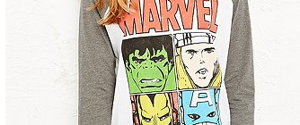 marvel comics tshirt urban outfitters