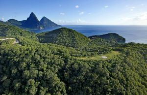 St Lucia View Volcano