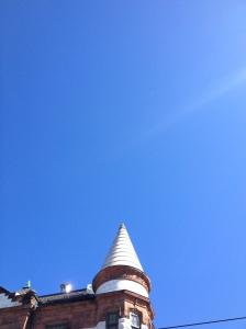 Oslo house turret