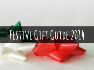 festive gift guide 2014