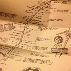 Route 66 maps