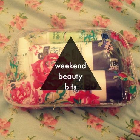 weekend beauty bag